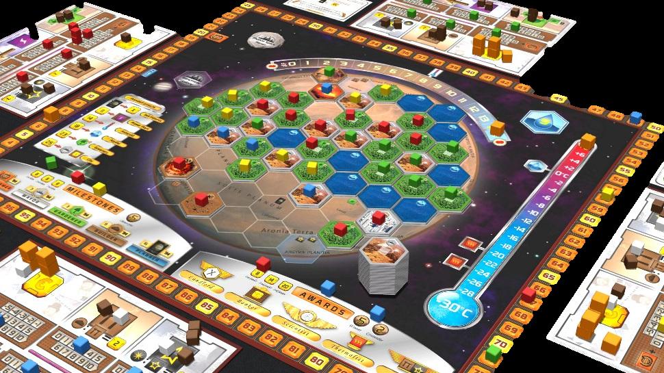 juego de mesa geología Terraforming Mars