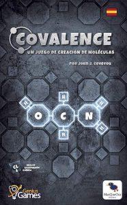 portada Covalence juego de mesa de Química
