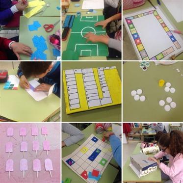 Creación de juegos de mesa