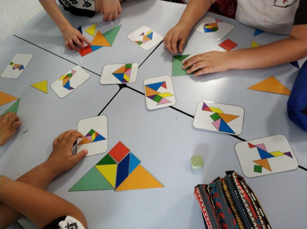juegos para geometría y arte - Tangram