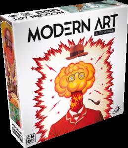 juego de mesa Modern Art Knizia CMON