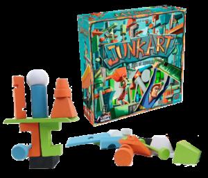 juego de mesa arte Junkart