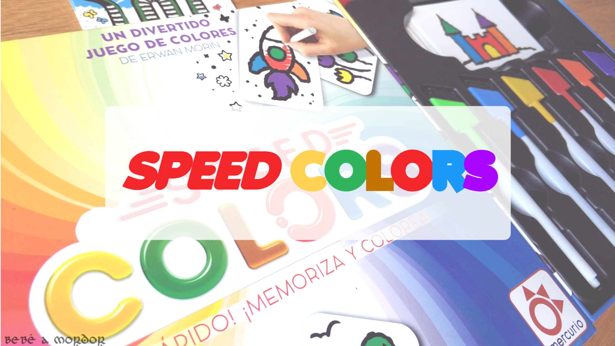 Juegos en Familia] Speed Colors: memoria y velocidad artísticas ...