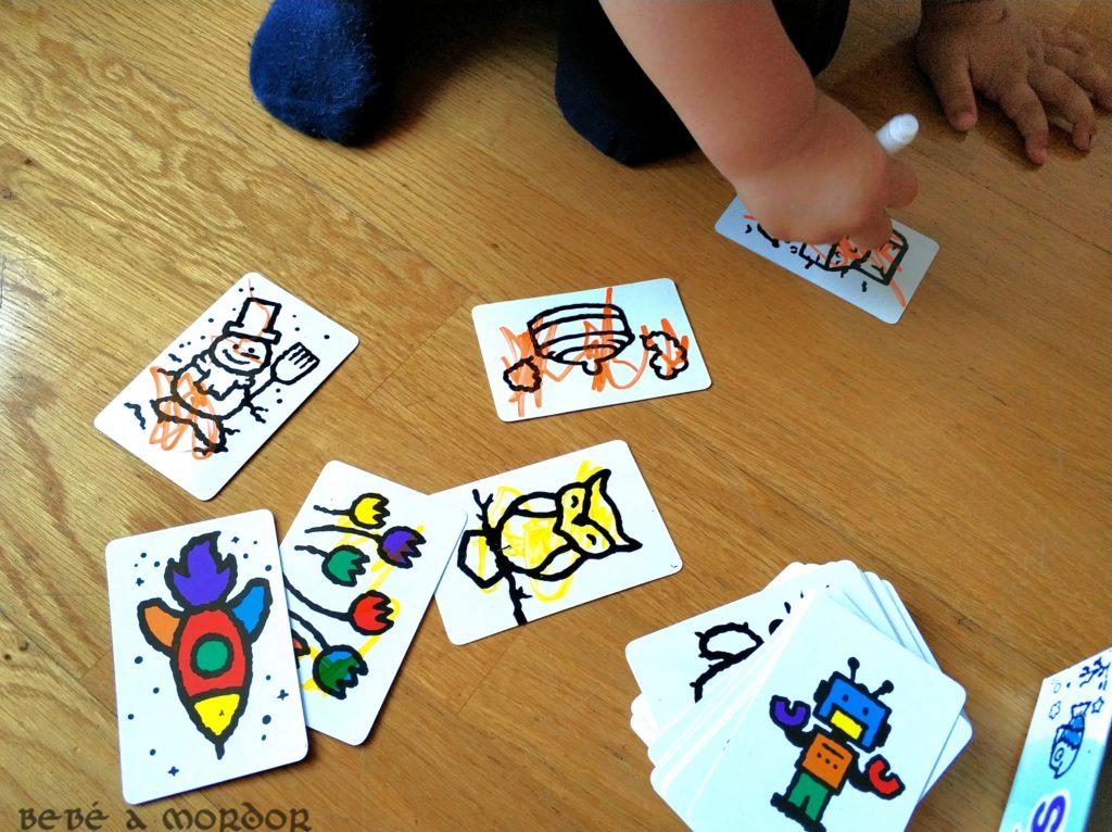 Psicomotricidad fina niño 2 años con juegos de mesa