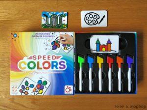 caja cuna y componentes Speed Colors