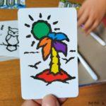 carta Speed Colors lado coloreado
