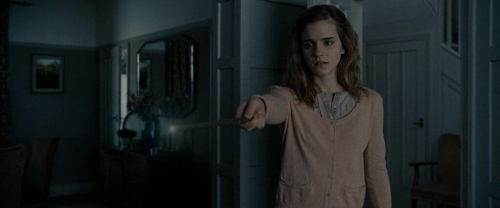 cine familiar brujas Halloween para niños Hermione Harry Potter