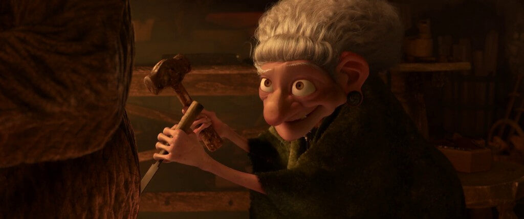 cine familiar brujas para niños Brave