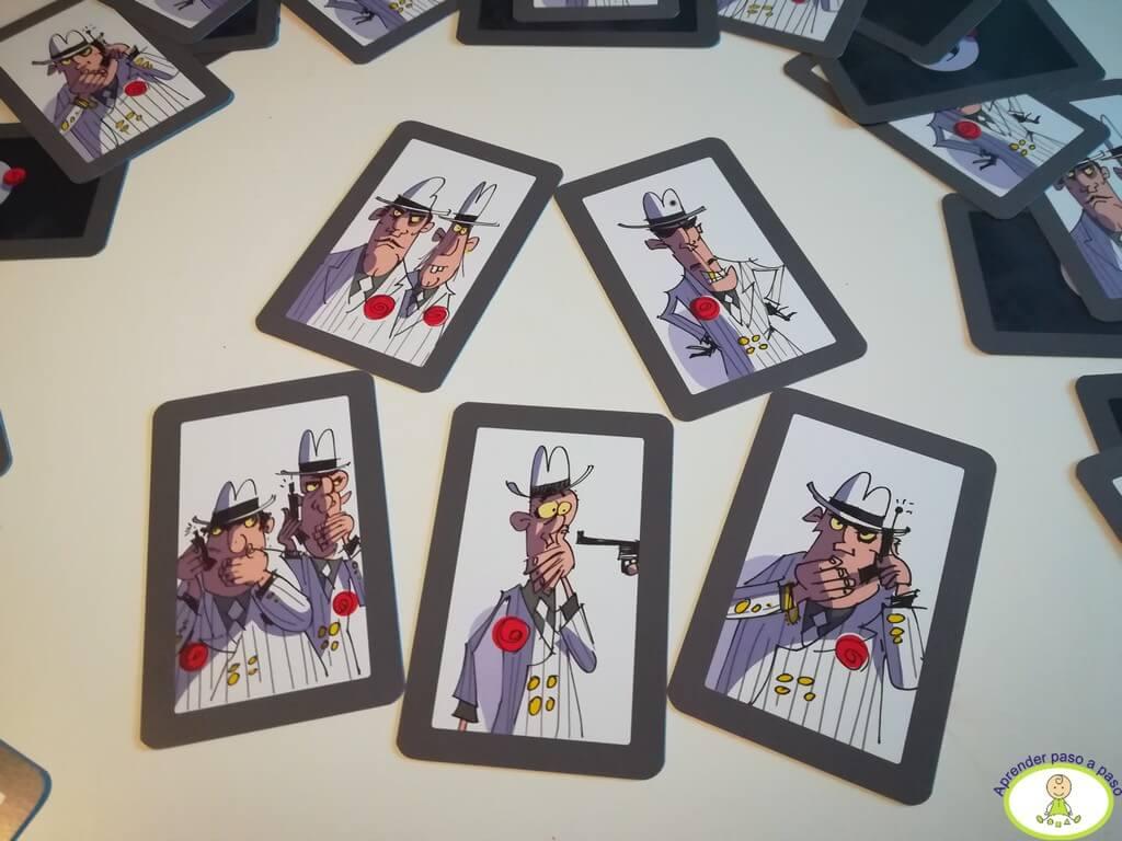 Tipos de cartas mafiosos Los Odiosos 7 Mercurio