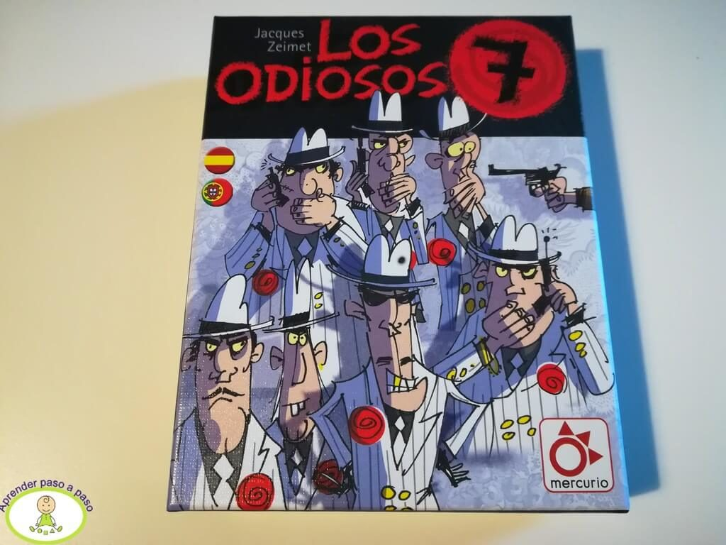 Caja juego Los Odiosos 7