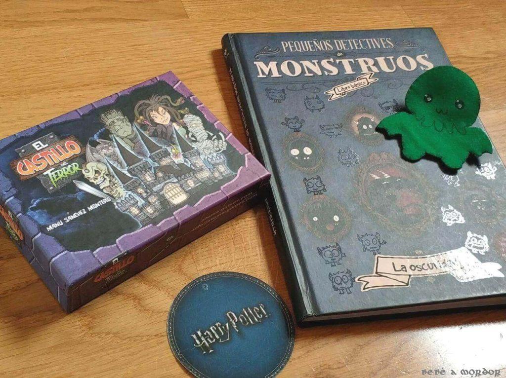 Libros y juegos y cine terroríficos Halloween para niños