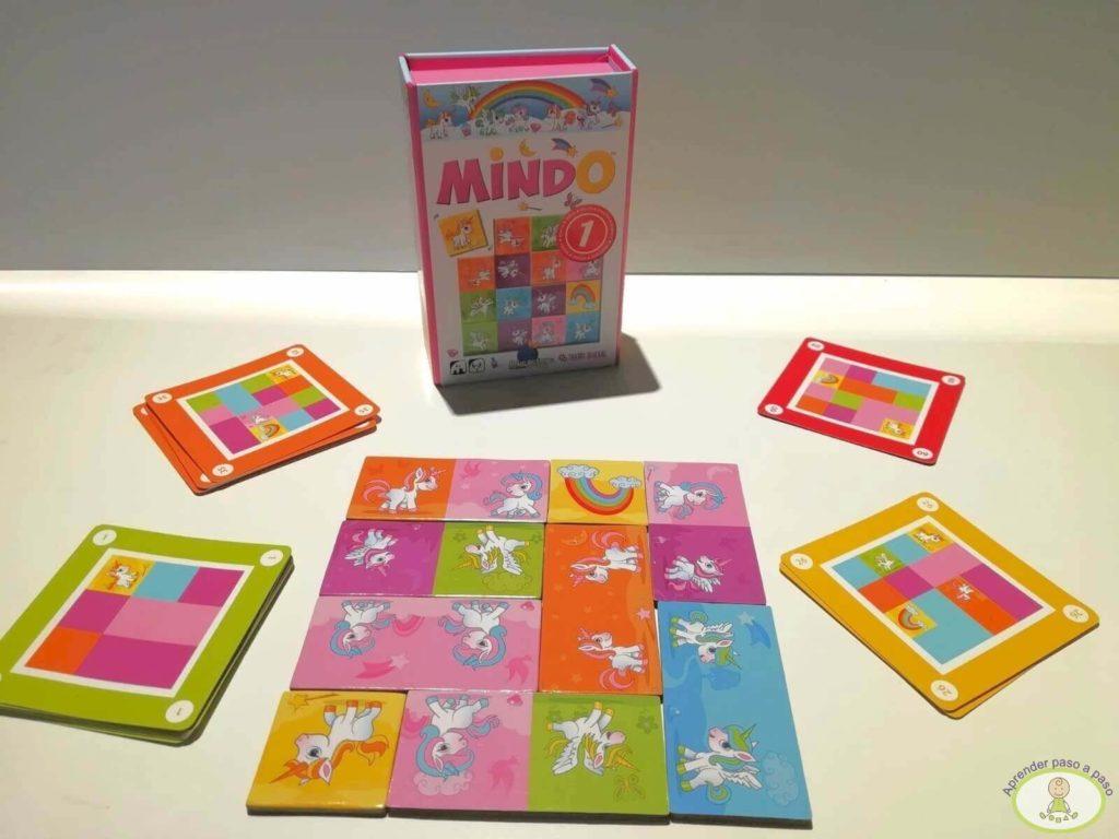 juego de mesa Mindo versión unicornios Mercurio