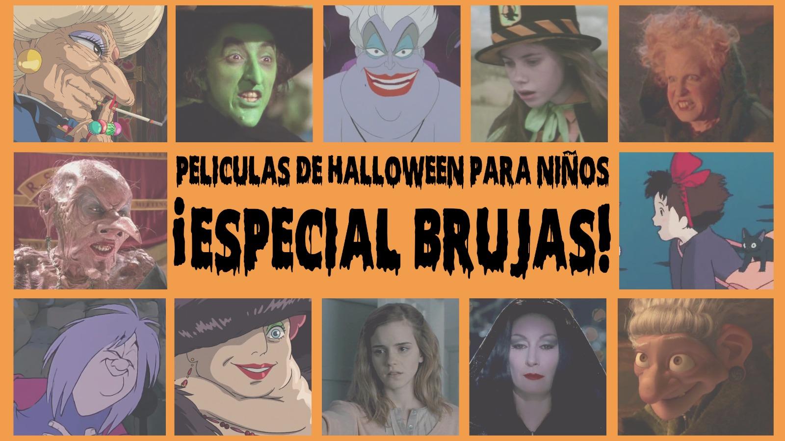 películas de Halloween para niños con brujas