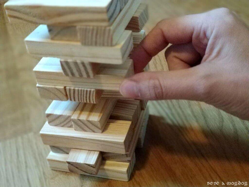 elegir bloque madera Jenga clásico