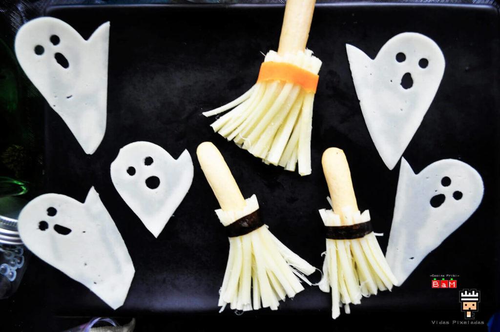 Aperitivo de Halloween Escoba de bruja 1