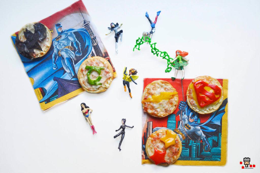 libro dc recetas pizzas superheroes