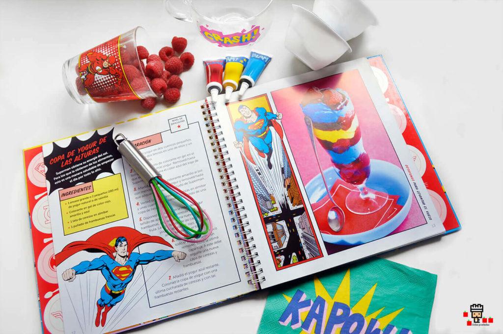libro oficial de recetas de los superheroes SUPERMAN