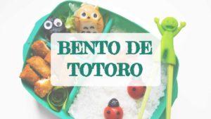 Kyaraben para niños_ BENTO DE TOTORO
