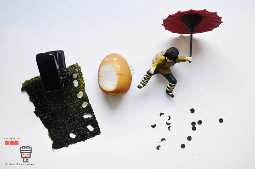 Totoro y Ryoga con Alga Nori