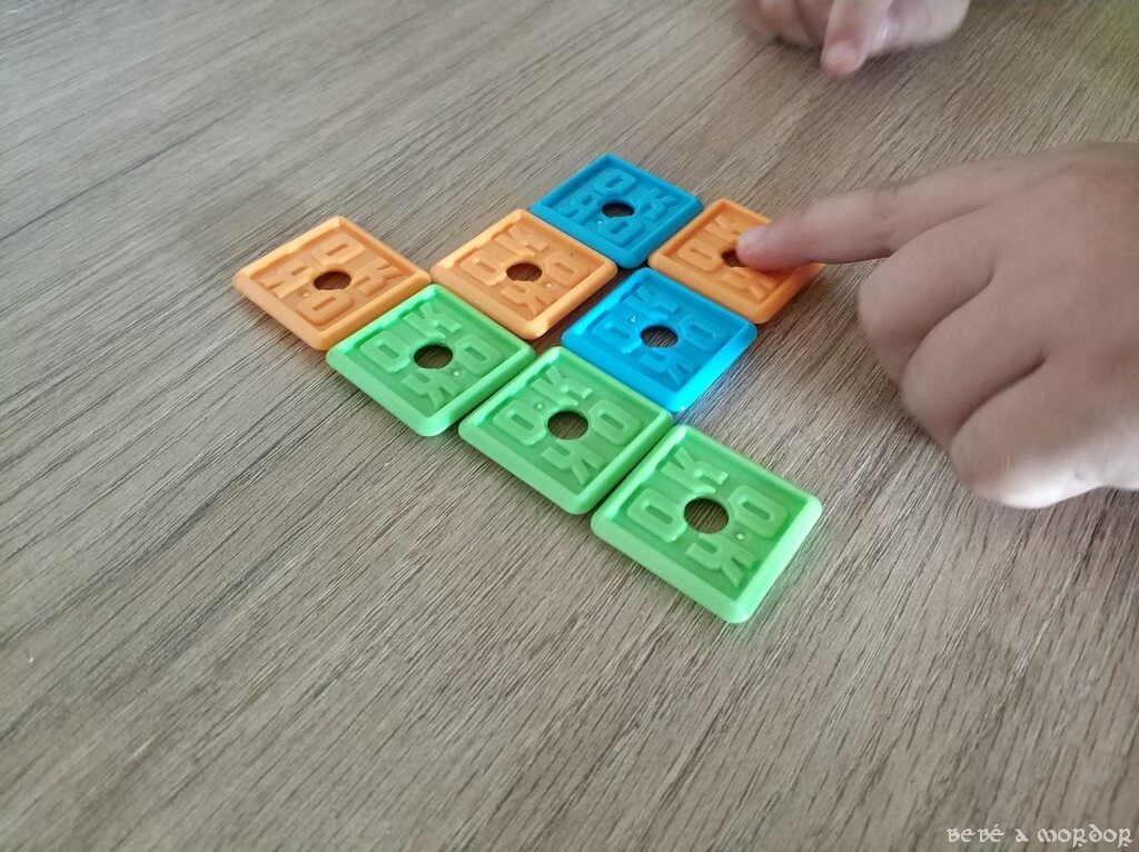 juego de mesa OK Play adaptado