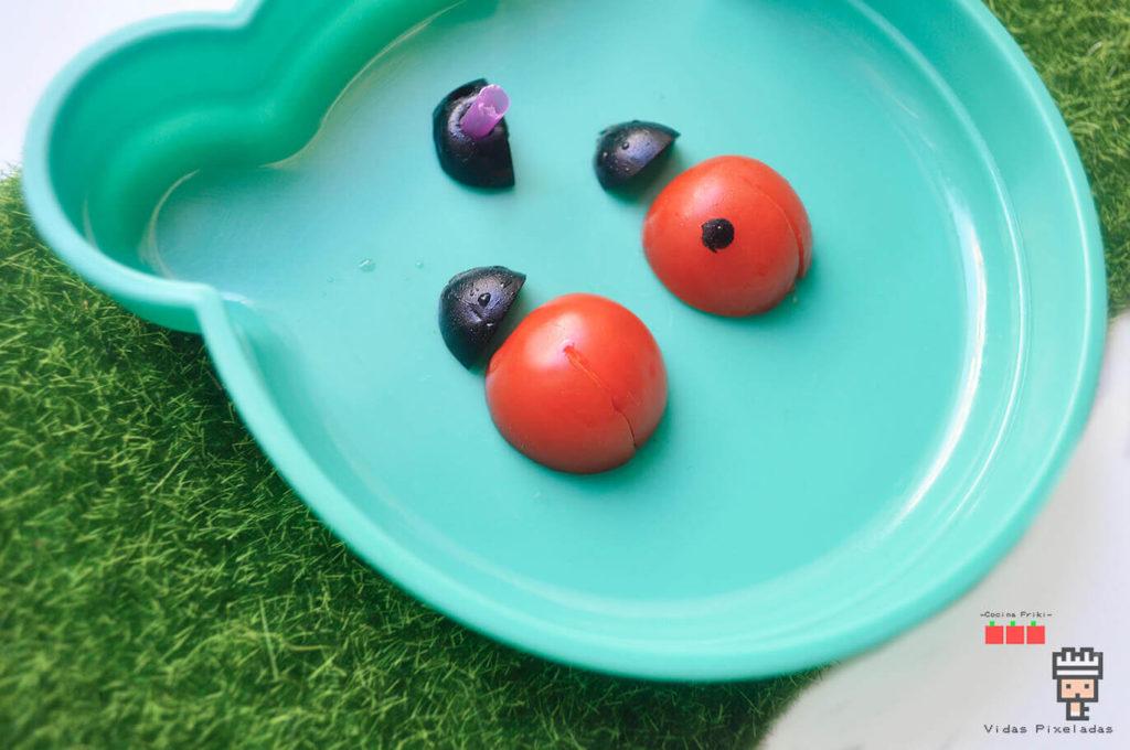 mariquitas de cherry con niños