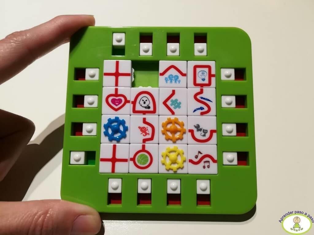 puzzle terminado y Fin del juego brain connect