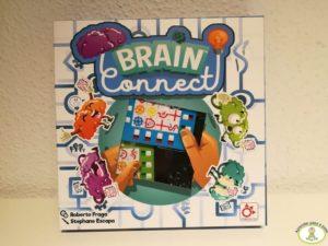 Caja de juego de mesa Brain Connect de Mercurio
