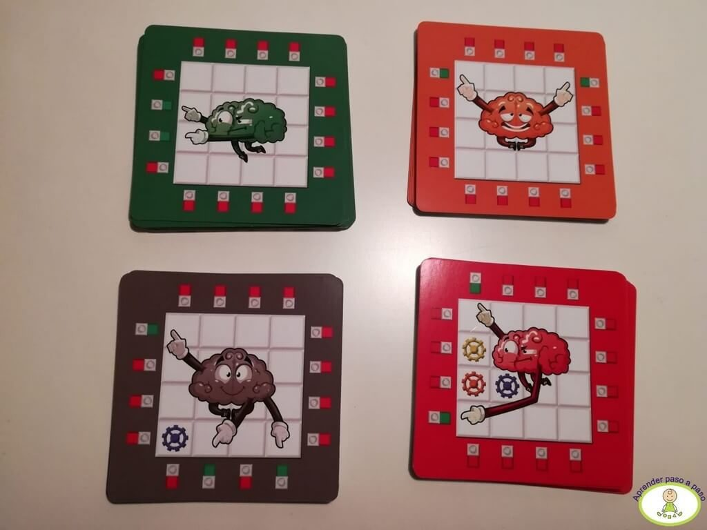 MEcánica del juego y niveles de dificultad de los puzzles Brain Connect