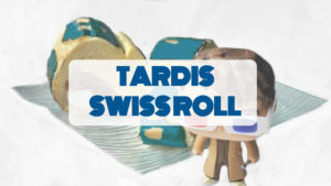 portada receta cocina friki Tardis Swiss Roll Doctor Who