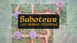 PORTADA reseña cómo se juega al juego de mesa Saboteur Las Minas Perdidas