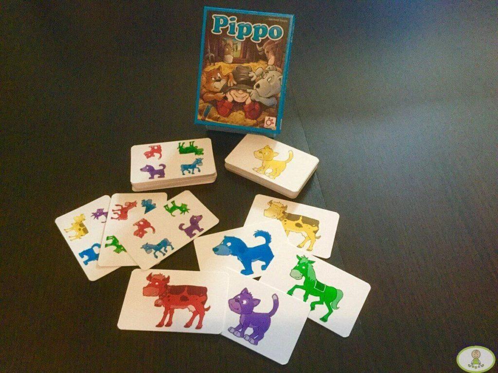 componentes juego de mesa Pippo