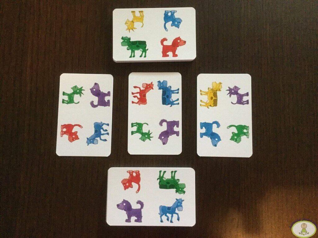 cartas de cuatro animales Pippo