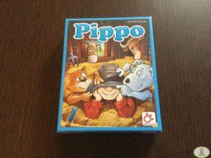 caja del juego de mesa Pippo de Mercurio Distribuciones