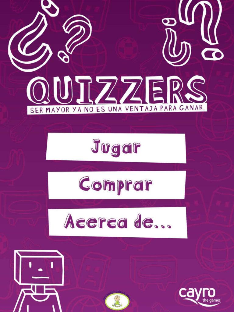 Quizzers portada app
