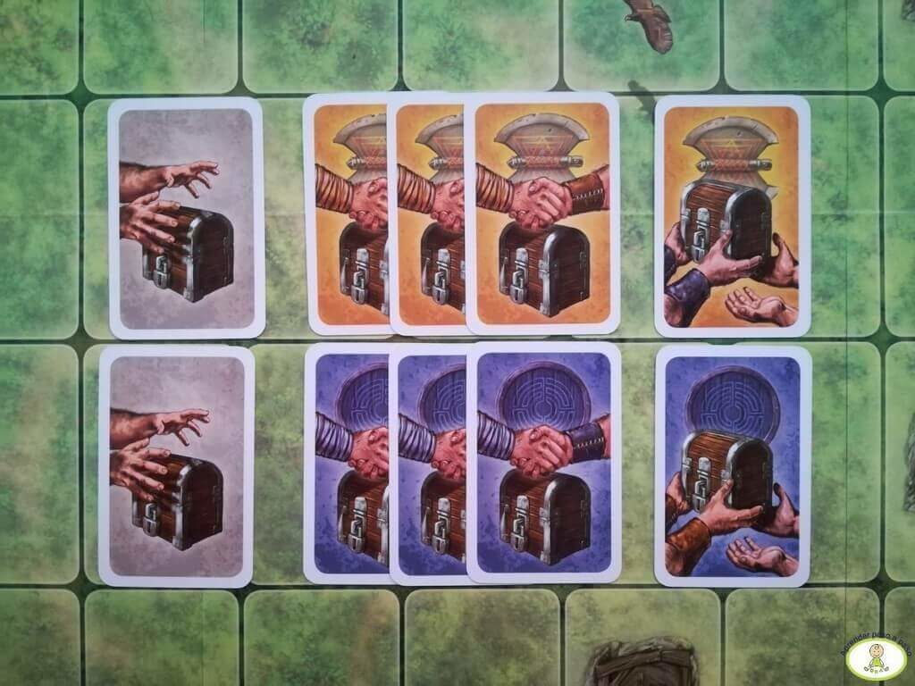 cartas de enanos del juego Saboteur Las Minas Perdidas
