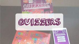 portada reseña cómo se juega juego de mesa Quizzers de Cayro