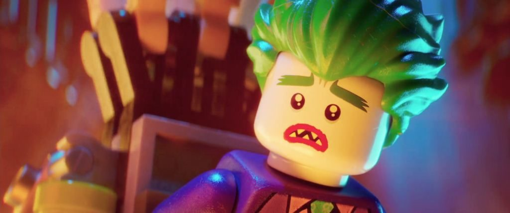 Joker archienemigo de Batman Lego PElícula niños