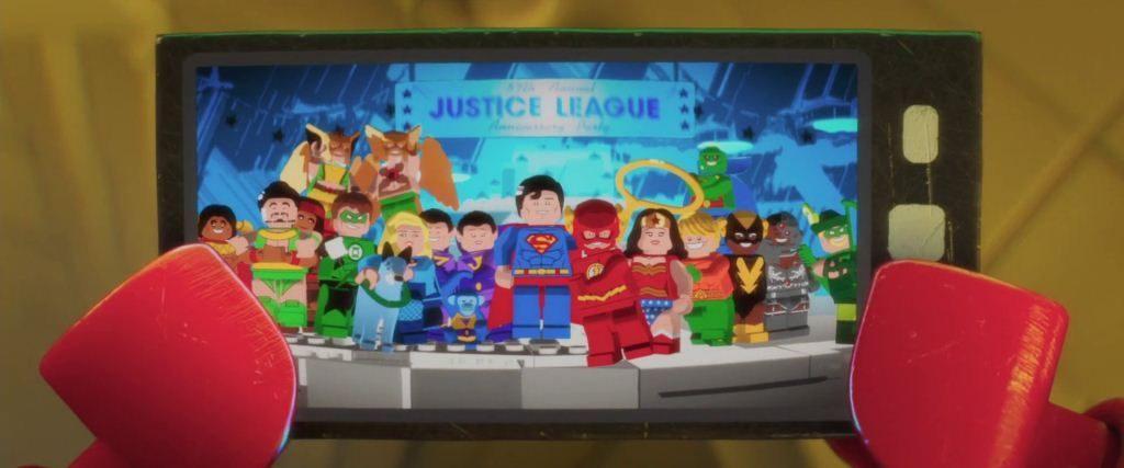 familia Batman Lego Película personajes DC heroes