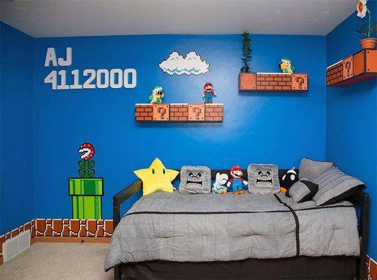 Habitación Super Mario Bros