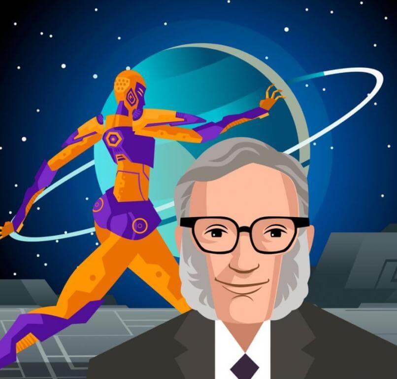 Isaac Asimov padre de la robótica y sus leyes