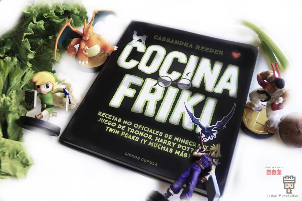 Libro Cocina Friki