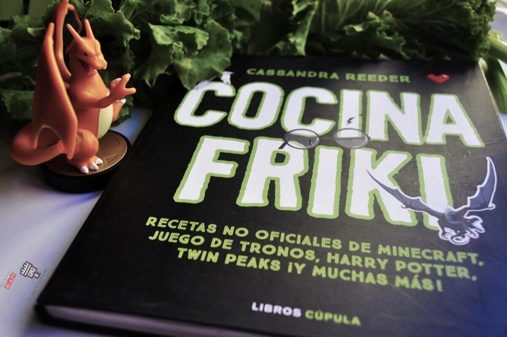 Libro recetas Cocina Friki Cassandra Reeder