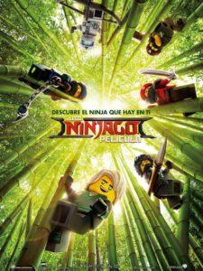 análisis cartel La Lego Ninjago Pelicula