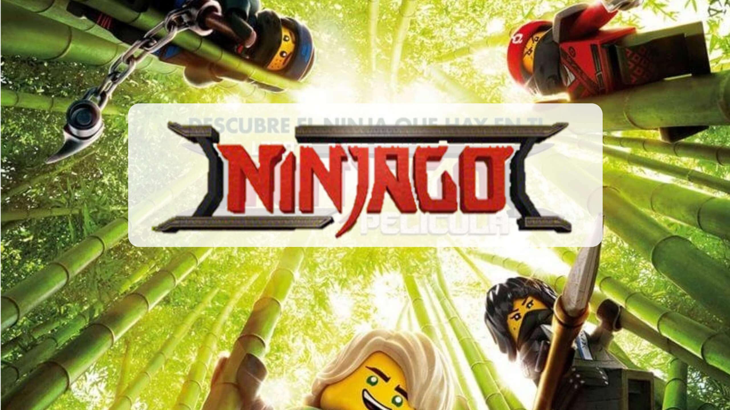 portada reseña crítica cine niños lego ninjago