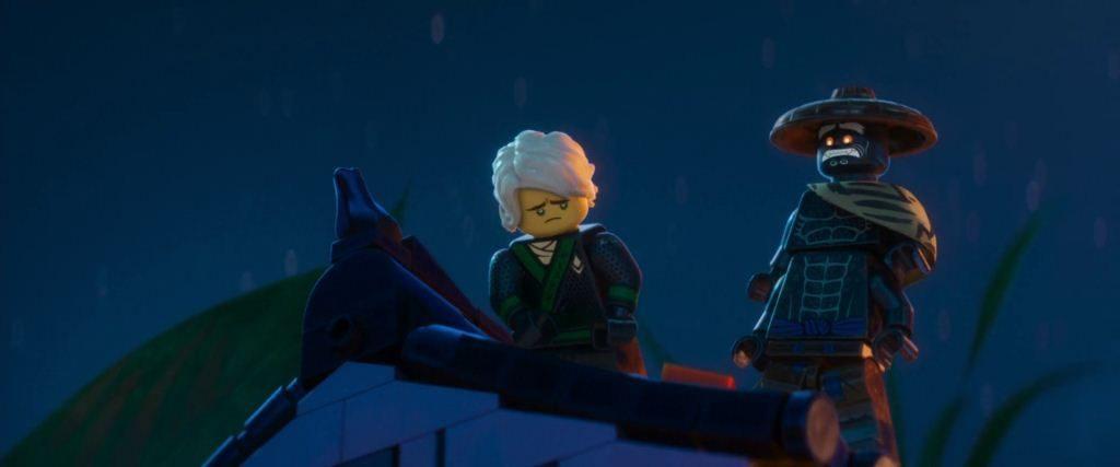 Lloyd Garmadon, yo soy tu padre señor de la guerra Lego Ninjago película