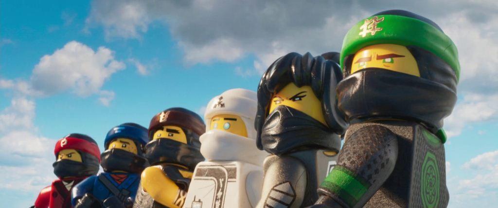 adolescentes Ninjago de la Lego Ninjago salvan la ciudad