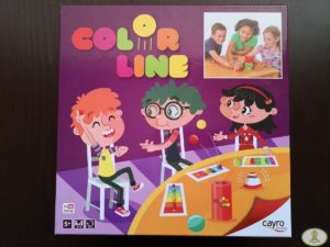 portada caja juego de mesa Color Line de Cayro