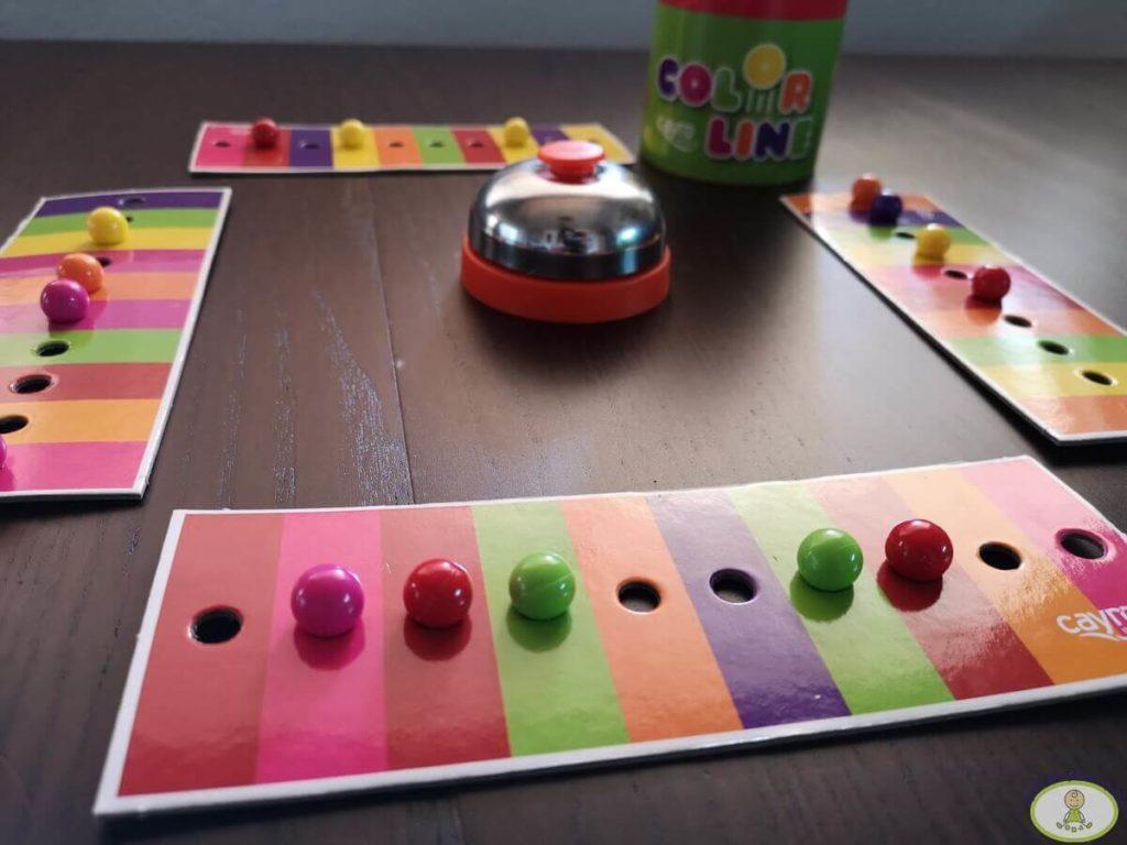 juego de mesa Color Line