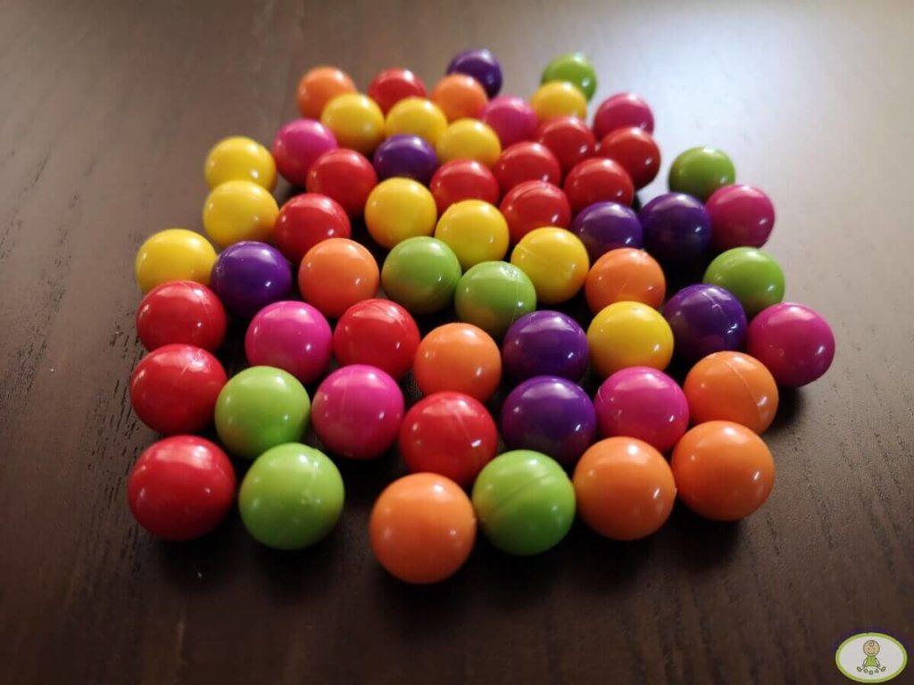 bolitas de colores de Color Line
