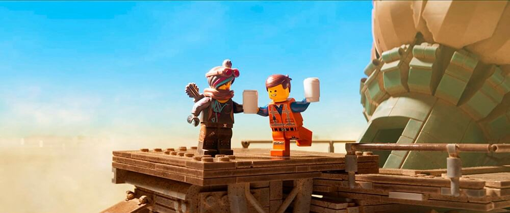 Emmet feliz en La Lego Película 2
